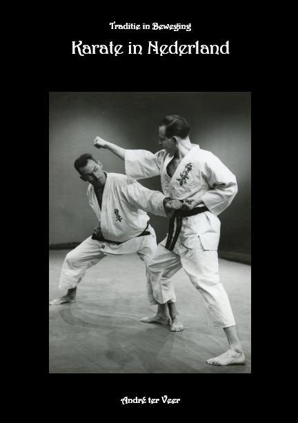 boek - De geschiedenis van het karate in Nederland